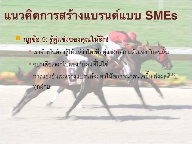ขั้นตอนการสร้างแบรนด์แบบ SMEs