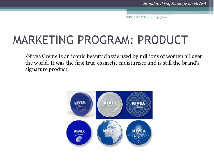 Nivea Marketing Mix (4Ps) Strategy