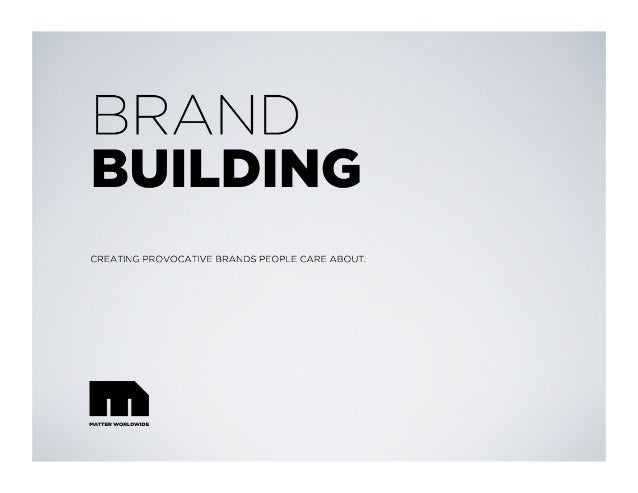 YOUR BRAND S GENETIC CODE every great brand has substance. a brand s DNA is timeless. a brand s blue print is a unique set...