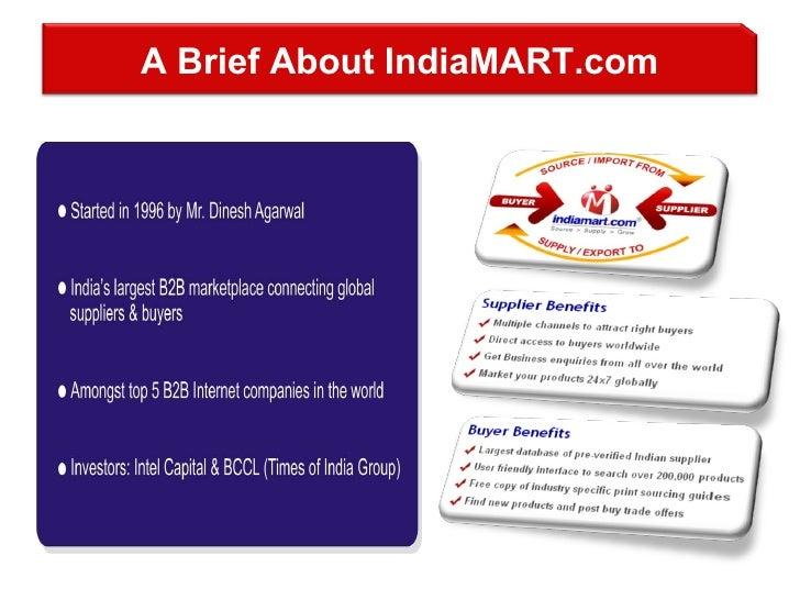 A Brief About IndiaMART.com