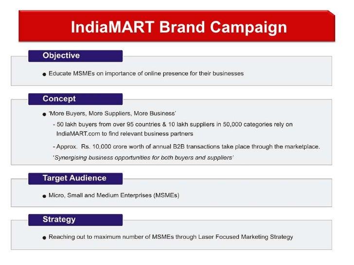 IndiaMART Brand Campaign