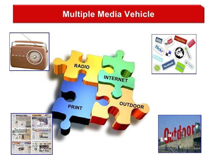 RADIO INTERNET PRINT OUTDOOR Multiple Media Vehicle