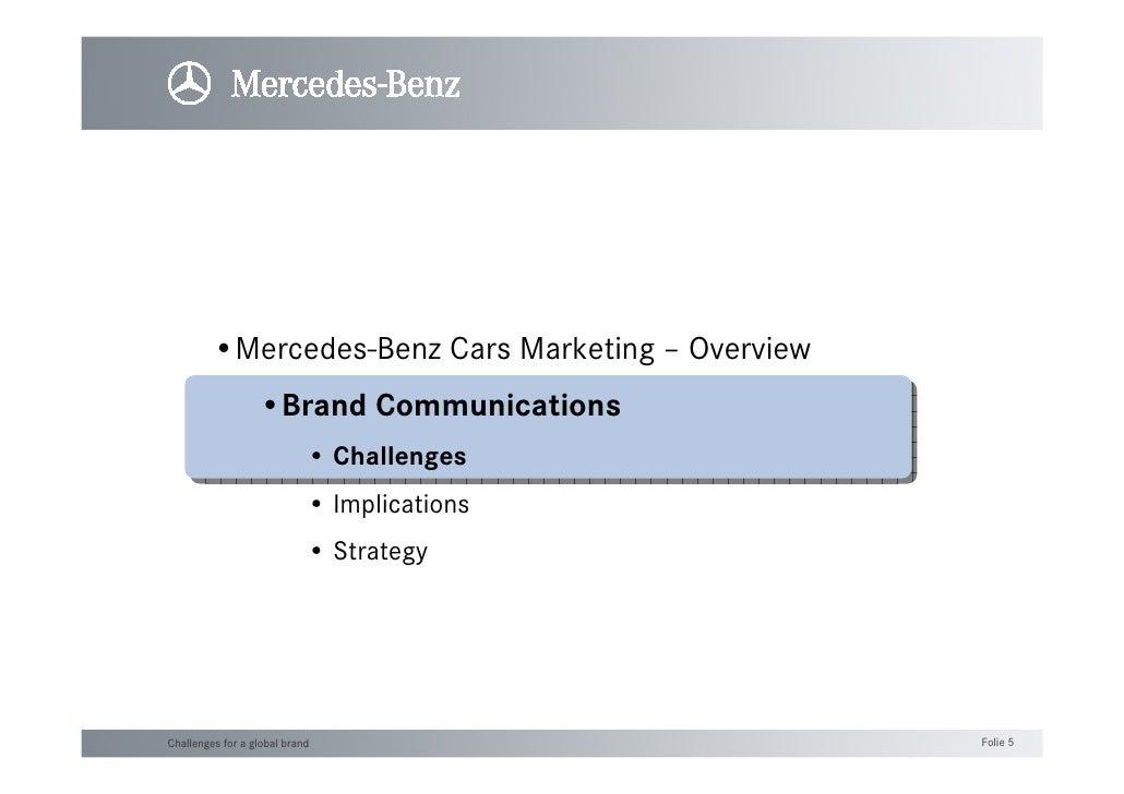 Brand CommunicationIl caso Mercedes-Benz Slide 2