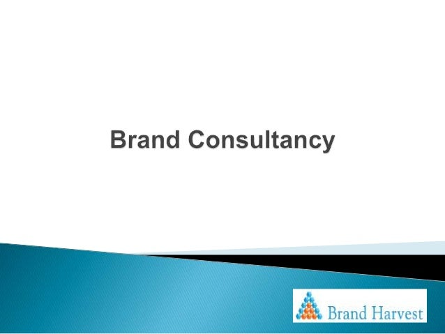 Brand consultancy for Brand consultant