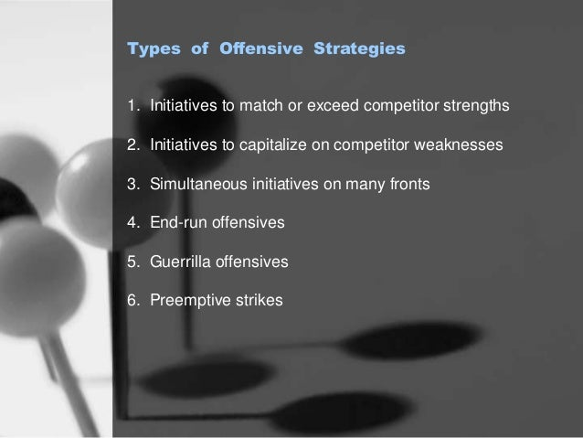 5 types of offensive strategies Analyzing the strategy behind a successful 3-5-2 formation  that modifies itself  throughout the course of a game forming a stout defense and a powerful offense.