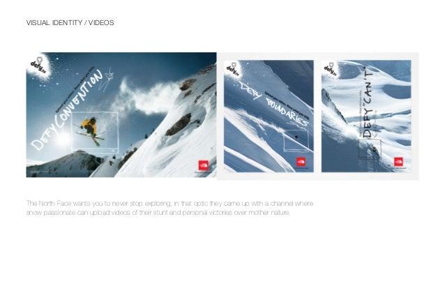 North Face brand book