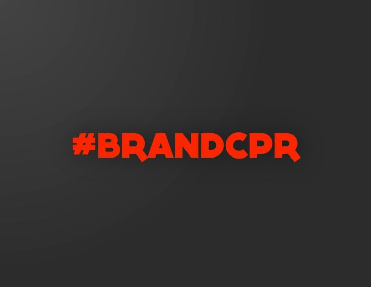 The Brand Is Dead: Long Live the Brand Slide 2