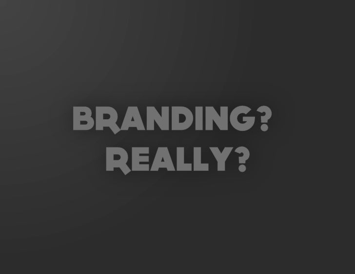 The Brand Is Dead: Long Live the Brand Slide 3