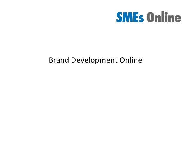 Brand Development Online