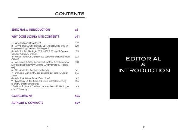 Brand(ed) content & Luxury Communications Slide 2