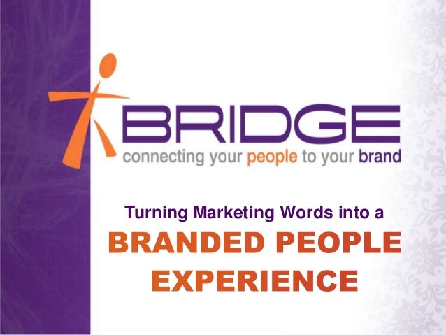 Turning Marketing Words into a