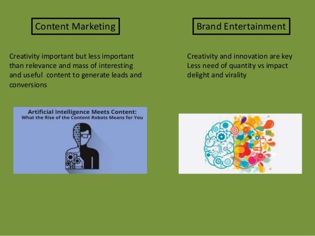 NON entertainment based content the best way to leads and conversion