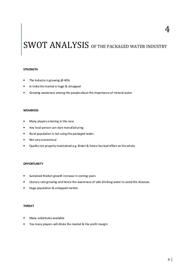 swot analysis of evian 32) starbucks swot analysis: strengths: strong market position and global brand recognition: starbucks has a significant geographical presence.