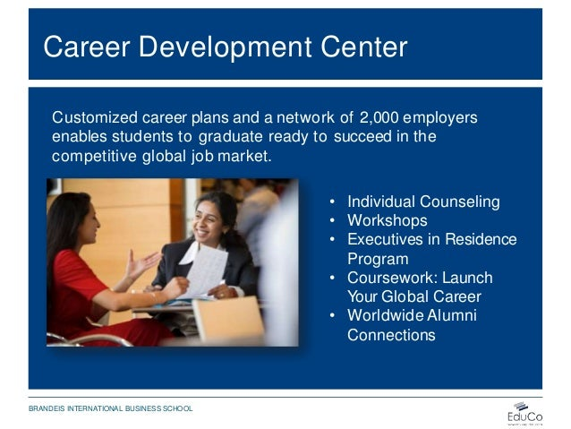 Career Development Center Customized career plans and a network of 2,000 employers enables students to graduate ready to s...