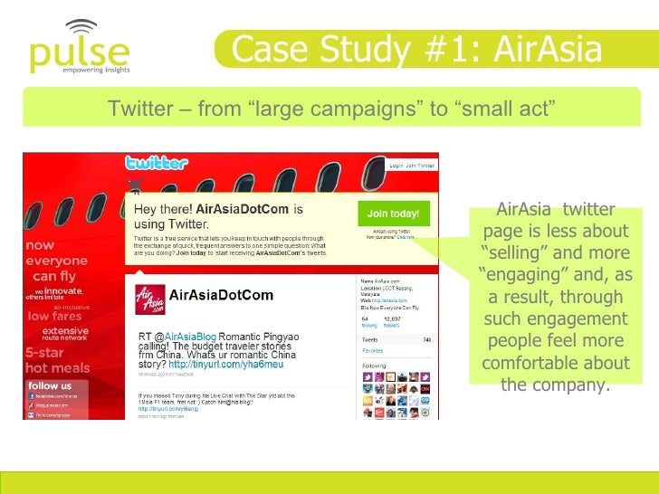 target audience for airasia It is the latest advertising campaign for airasia, the continent's answer to  tony  fernandes is proving that there is a market for budget airlines in asia  the  target consumer base for budget airlines is also enormous: 500m.