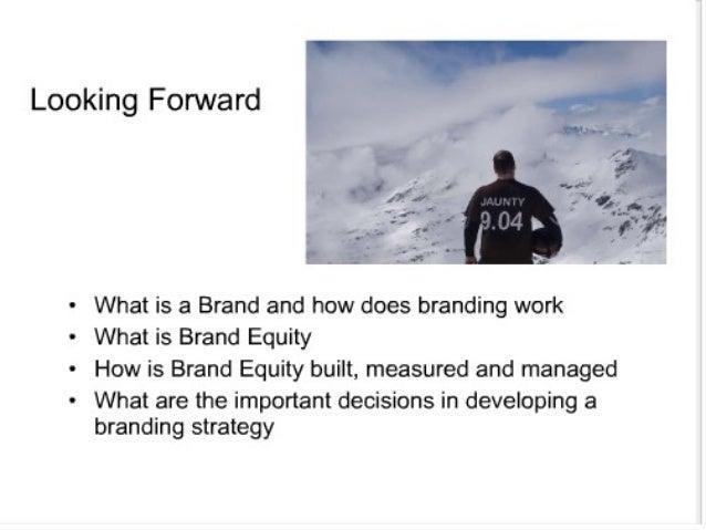 Brand equity Slide 2
