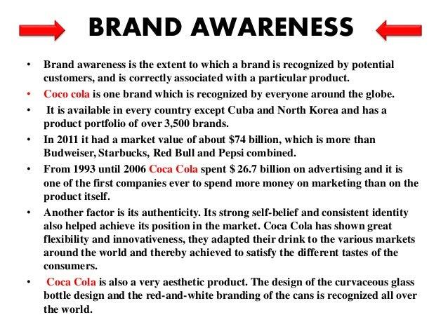 coca cola brand recognition