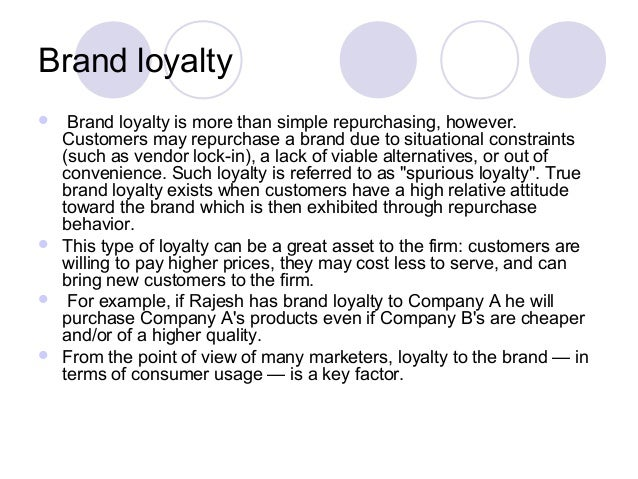 the importance of brand loyalty