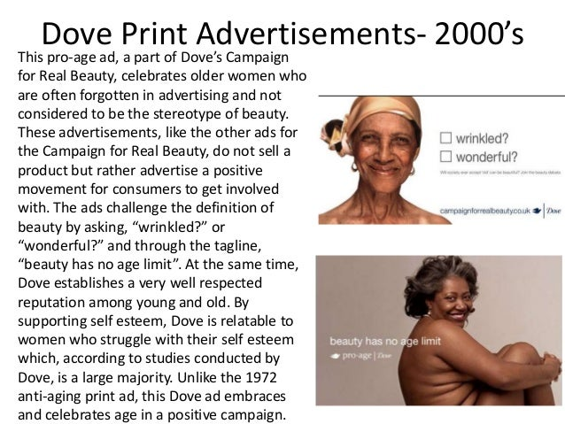 dove ad campaign While dove removed the ad, it played into the racist history of skin  a part of a  campaign for dove body wash, a three-second video clip was.