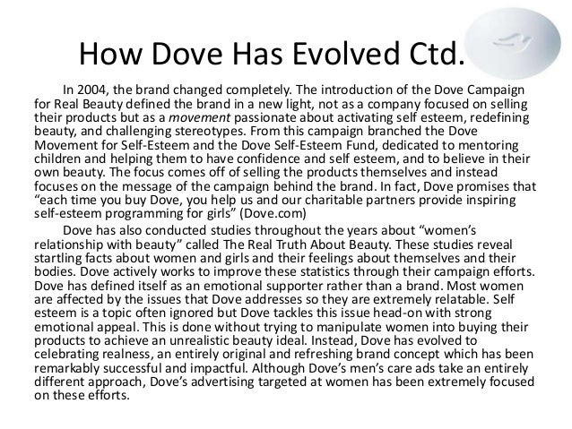 dove brand purpose