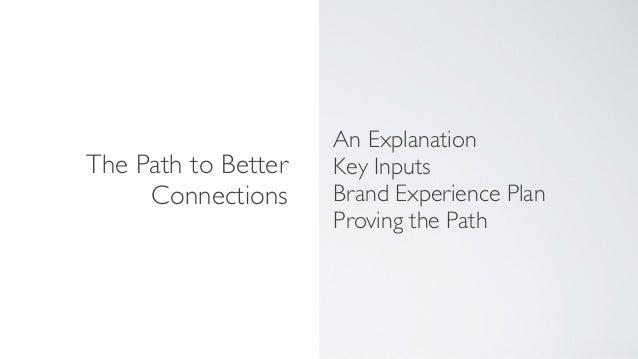 Brand Experience Planning Slide 3