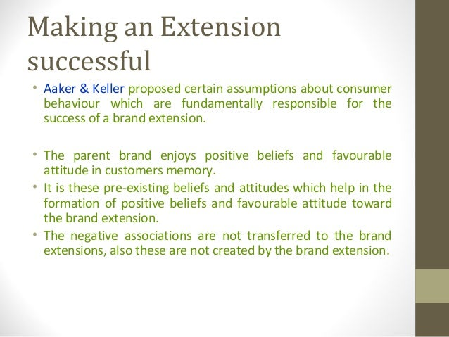 Consumer behaviour product line extension billabong