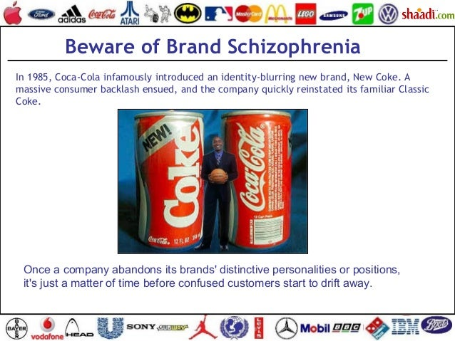 In 1985, Coca-Cola infamously introduced an identity-blurring new brand, New Coke. A massive consumer backlash ensued, and...
