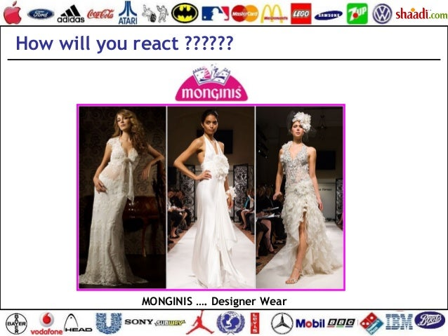 How will you react ?????? MONGINIS …. Designer Wear