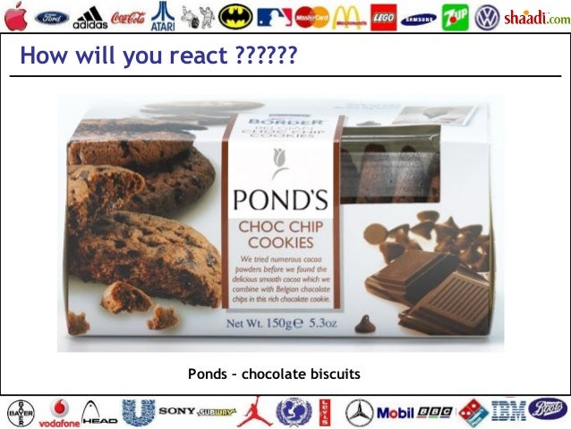 Ponds – chocolate biscuits How will you react ??????