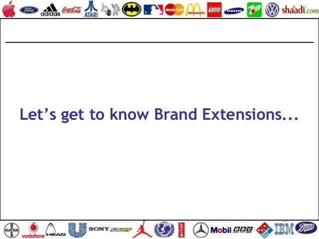 Let's get to know Brand Extensions...