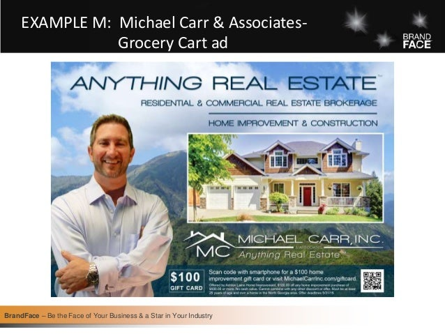 BrandFace for Real Estate Professionals-examples from the book
