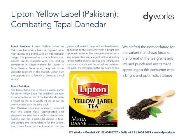 Brand flash - Lipton Yellow Label (Pakistan)