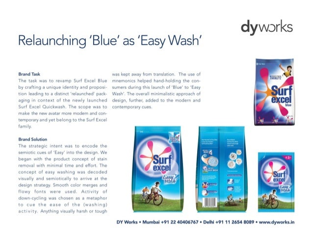 Brand flash - Surf Excel Easy Wash