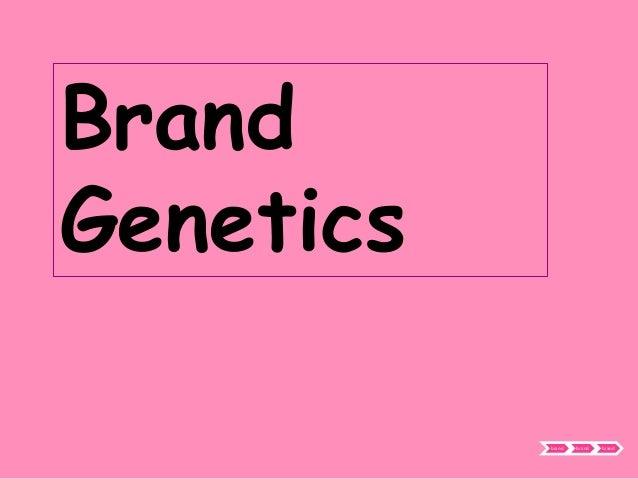 BrandGenetics           brand   brand   brand
