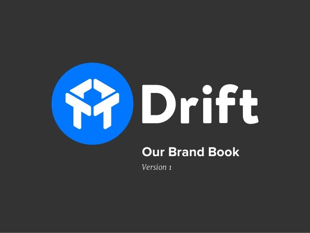 Our Brand Book Version 1
