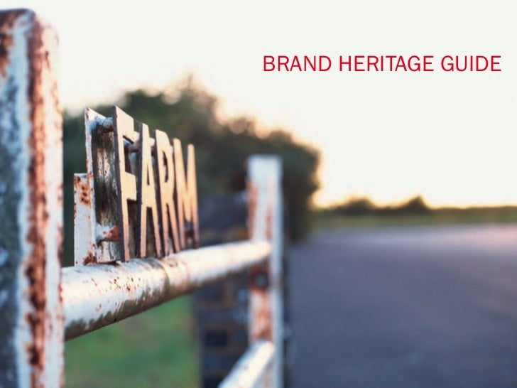 |BRAND HERITAGE GUIDE                     1