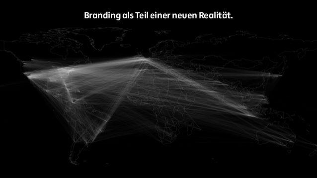 Branding als Teil einer neuen Realität.