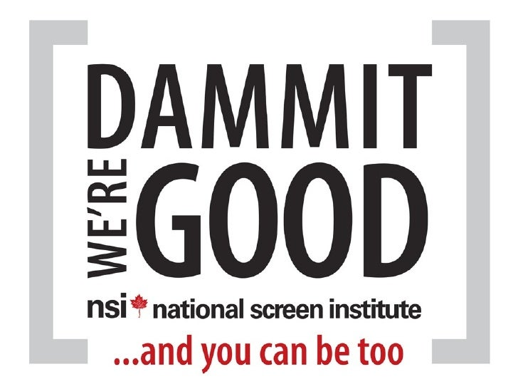 National Screen Institute presentation Banff World Media Fest 2012