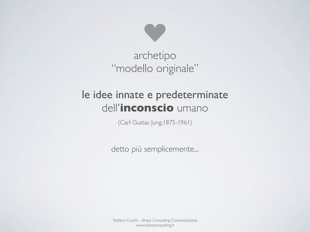 """archetipo      """"modello originale""""le idee innate e predeterminate     dellinconscio umano        (Carl Gustav Jung,1875-19..."""