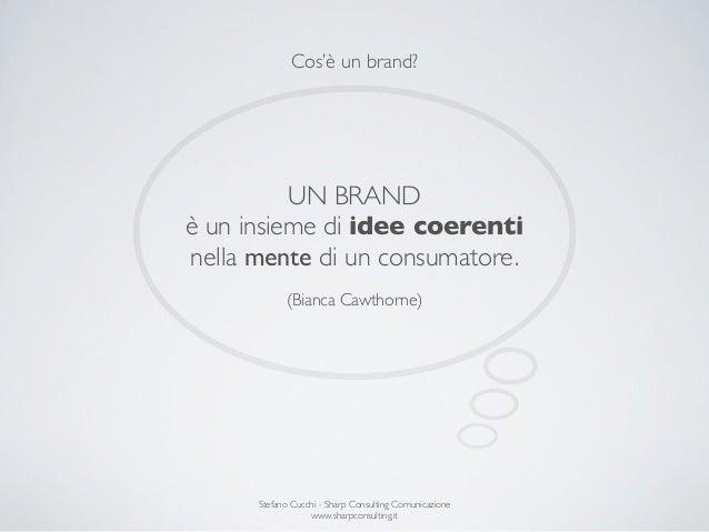 Costruire la Brand Identity di una Startup Slide 2