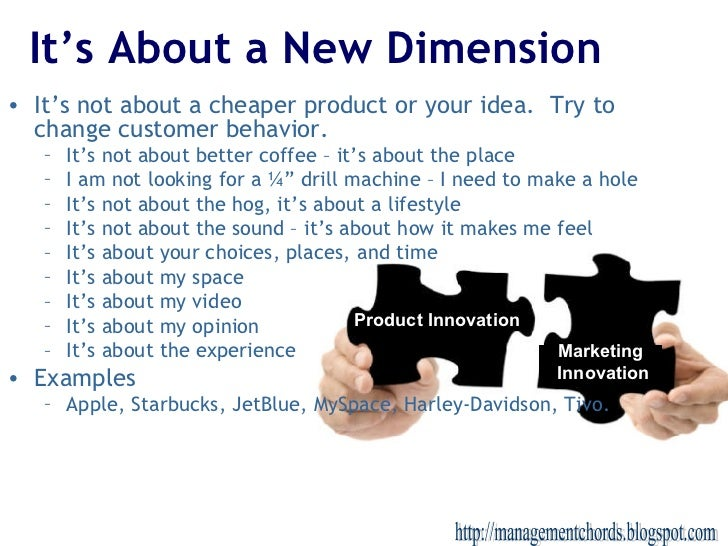 It's About a New Dimension <ul><li>It's not about a cheaper product or your idea.  Try to change customer behavior. </li><...