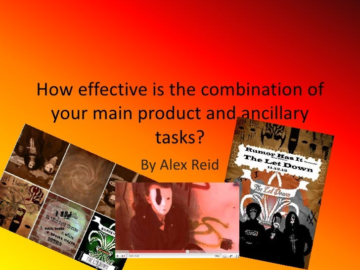 How effective is the combination of your main product and ancillary tasks?<br />By Alex Reid<br />