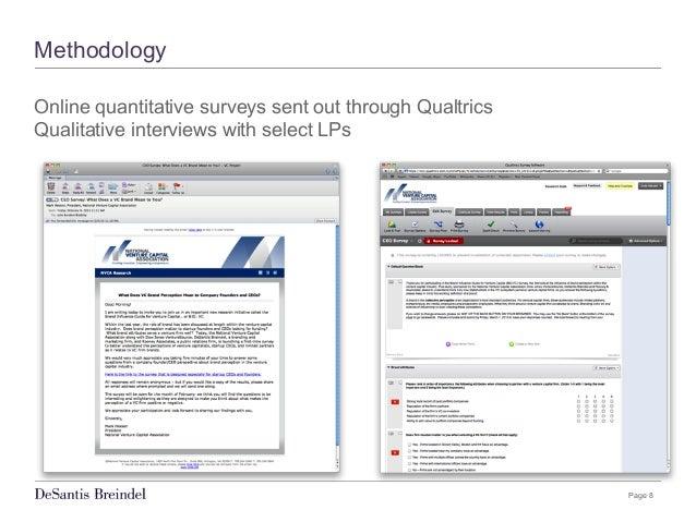 Page 8 Methodology Online quantitative surveys sent out through Qualtrics Qualitative interviews with select LPs