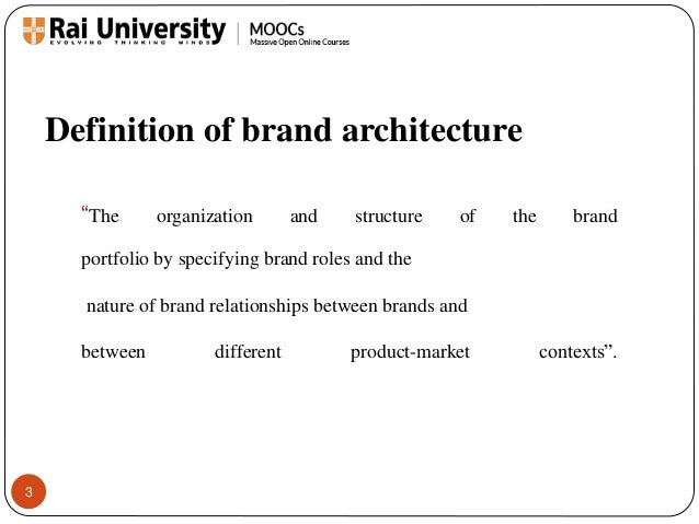 branding architecture and strategies In other cases, the sub-brand architecture just simply doesn't serve the  maps,  books etc, as well as a house of brands strategy with nest,.