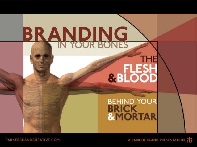 Branding In Your Bones: The Flesh & Blood Behind Your Brick & Mortar