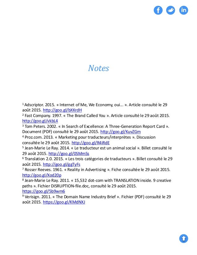 Notes 1 Adscriptor. 2015. « Internet of Me, We Economy, oui... ». Article consulté le 29 août 2015. http://goo.gl/bXKrdH 2...