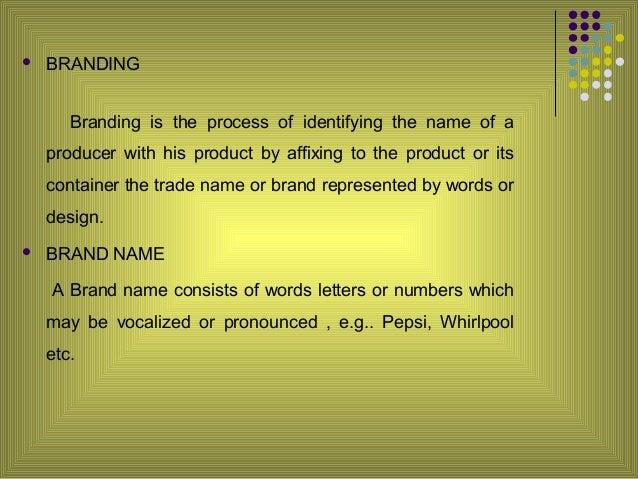 Branding packaging Slide 3