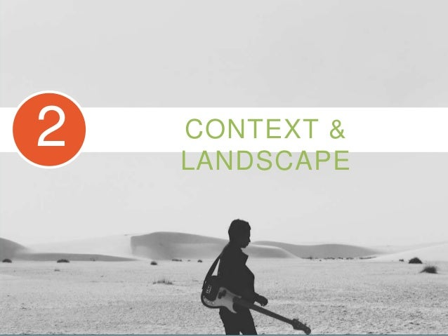 READY FOR ? CONTEXT & LANDSCAPE 2