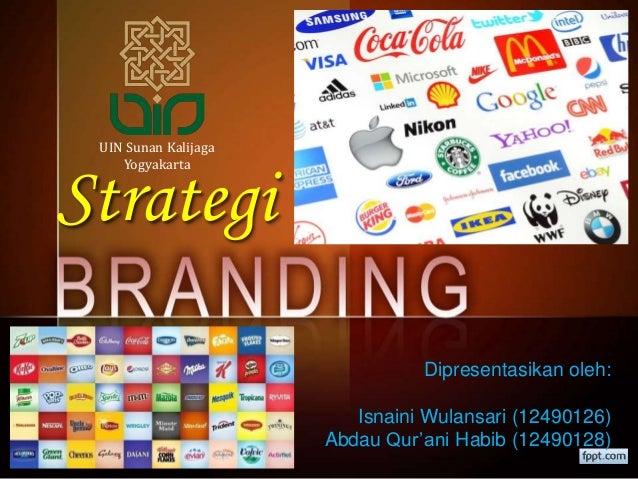Strategi Dipresentasikan oleh: Isnaini Wulansari (12490126) Abdau Qur'ani Habib (12490128) UIN Sunan Kalijaga Yogyakarta