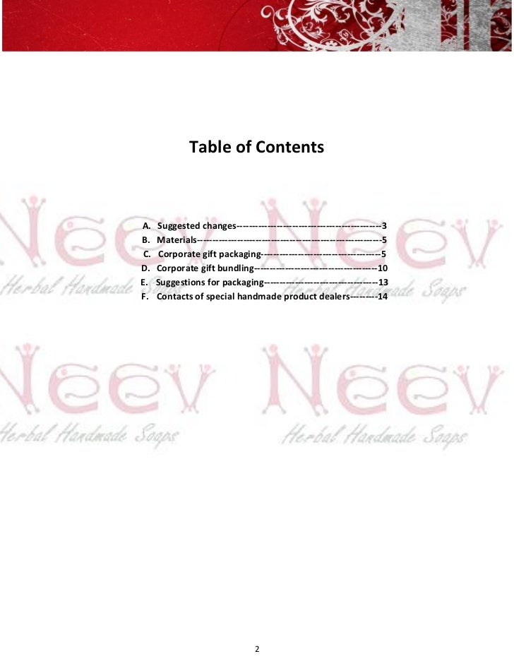 Table of ContentsA.   Suggested changes-----------------------------------------------3B.   Materials---------------------...